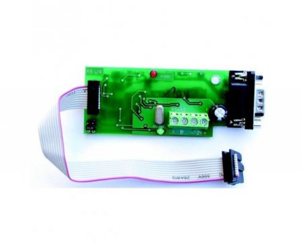 Встроенный интерфейс RS-485 к ВКТ-9
